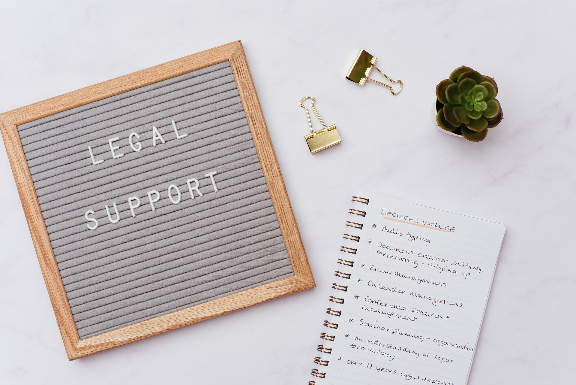 Legal Support