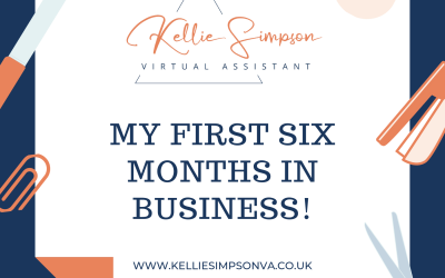 A reflection on my first 6 months in business.